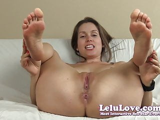 Amateur spread video - Lelu love-spreading pussy asshole soles joe