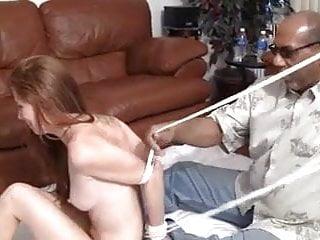Soft love bondage Redhead in soft bondage