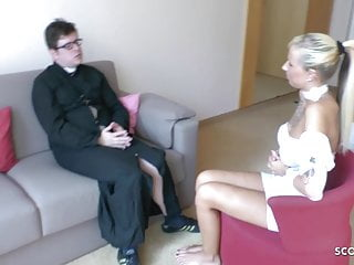 Teengaer sex with pastor - German teen anni seduce old guy pastor to fuck at repent