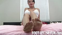 I will seduce you with my irresistible feet