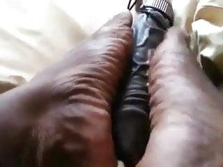 Free foot job video A friend of mine send me this foot job video