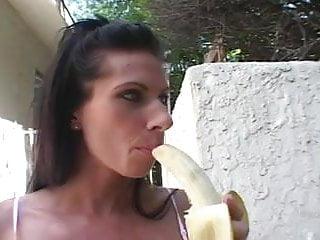 Sexy appetizer Banana appetizer c5m