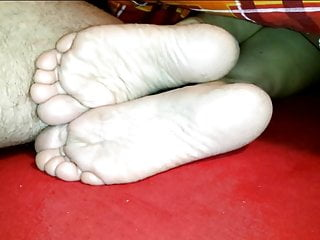 Sexy celeb footfetish Cum on girlfriends small sexy soles footfetish