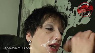 Dirty Cum Cum Party For Nasty Sperma-Milf Kira