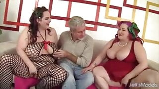 Ssbbw bbw Two Tons of Fun Cum Down Hard on a Lucky Dude's Co