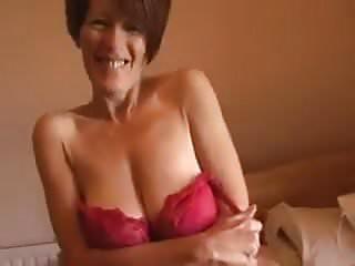 Pics old tits grandma with