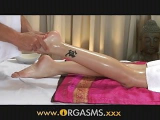 Femal erotic Orgasms erotic massage drives young girl wild