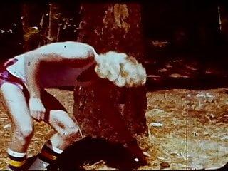 1970 s porn star Vintage 1970s loop joggers in park