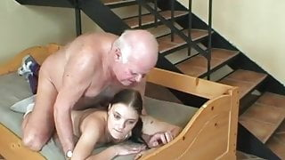 Old man - young girl