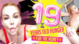 19 Years Old Hunger For The Money VR Conk