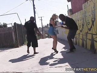Naked black men big cocks - Euro slut natasha starr gets dpd by black men