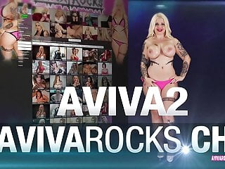 Penis mold silicone Aviva rocks - my new silicon tits