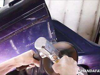 Power tool orgasms Power tools and fishnets shandafay