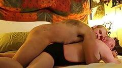 LOVE: Bald Senior Bear-Bearded Hirsute Cub BB-BREEDING-KISS