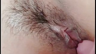 Water Squirting From Wife's Pussy