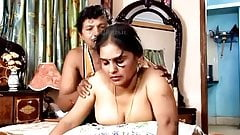Tamil hot aunty showing her body for money