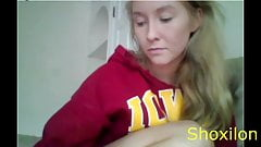 Hot 18 Years Old Blond Teen on CAM