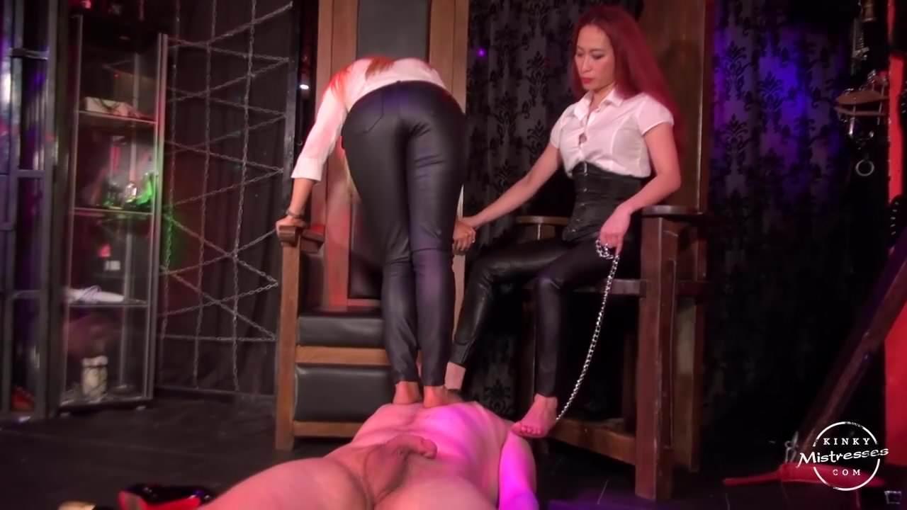 Lesbians Nylon Foot Worship