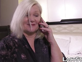 Young lesbo movie Blonde granny lacey star eaten out by young lesbo
