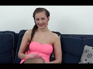 Short hairy man - Young girl casting audition hairy man