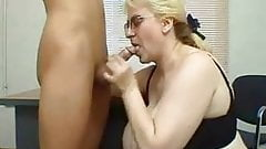 Tina sexy bbw mature teacher fucked by student
