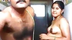Indian aunty sex with her husband