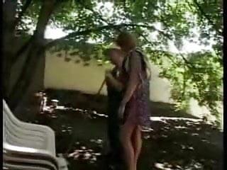 Fucked by the gardener - German housefrau fucks the gardener