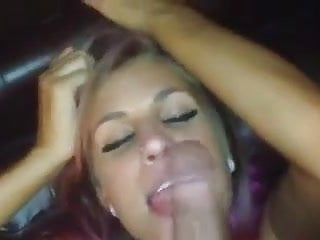 Midget guy cock - Hungry redhead sucks and licks horny guy cock and balls