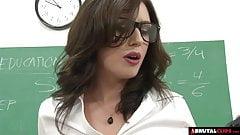 BrutalClips  Teacher services her class