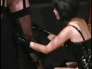 Latex bounding box - Hardcore hos spanking pussy while bound
