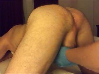 Femdom prostate miking video Femdom prostate milking with gloves