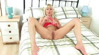 GILF Granny  Elaine Play Fun With Dildo by Dracarys69