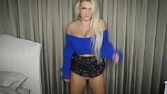BOOBALICIOUS - curvy British dance tease panty flashing