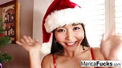 Japanese Christmas style celebration with Marica's solo