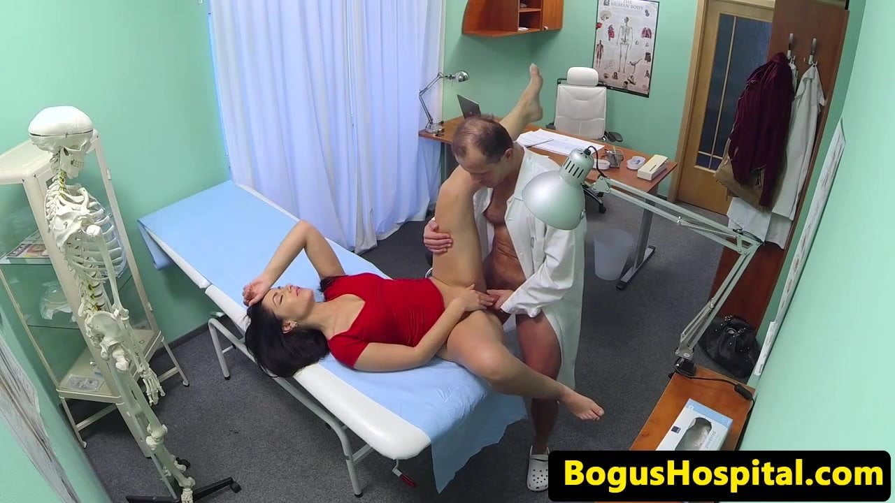 Fake Hospital Doctor Fucks Patients Tight Pussy To Cure His Hangover On Gotporn