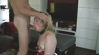 Master G Sloppy Rough Facefuck with Essex Girl Lisa