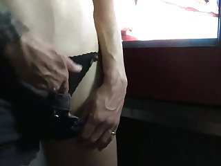 Free adult movie share Horny mature fucks herself in adult movie theater booth