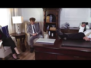 Free teacher and office sex Dana gets destroyed in the office