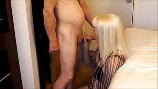 Skinny dude fucks a hot crossdresser
