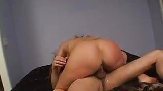 Cougar busy with hard cock