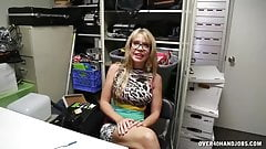 New Step Mom Makes Working Hard For Young Guy
