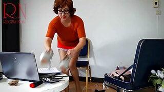 SEXRETARY Velma Dinkley. Part 4 Enchanted Velma. Scooby Doo.