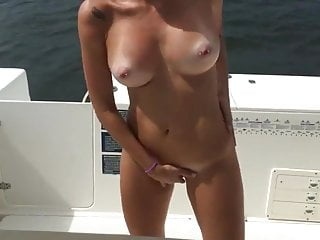 Nude milfs on boats Nice slut suck and fuck on the boat