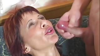 Hot milf and her younger lover 909