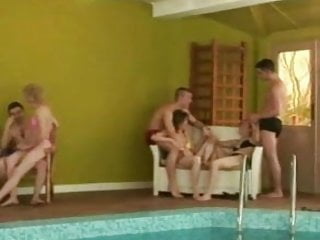 Kevin and aggy swinger party - Mature swinger party part 1
