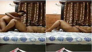 Indian desi hot couple fucking missionary position