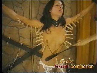 Beautiful skinny sluts Beautiful skinny brunette slave learns what bdsm is all