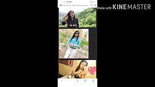 Pakistani famous tik toker Amna sabir