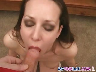 Sexy magical girl preview - Sexy brunette works her magic on his tiny cock