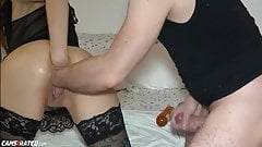 Slut Gets Fisted In All Holes On Cam